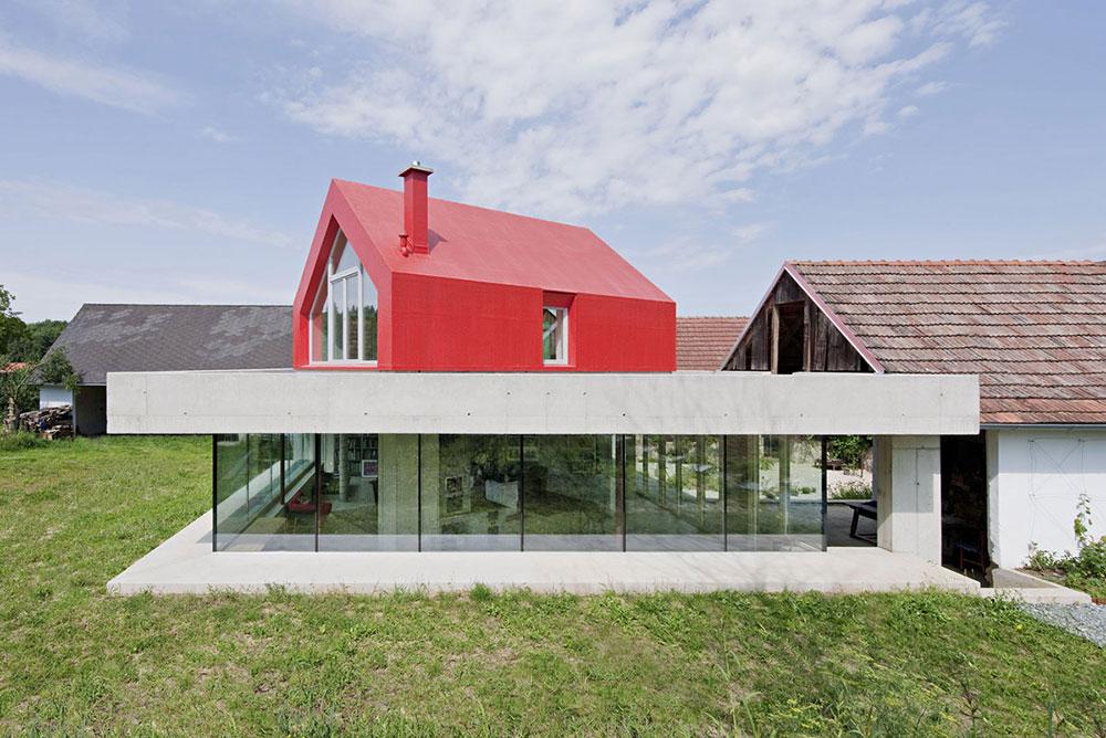 Farmhouse-Renovation-Burgenland-Austria-Concrete-Glass 6 tips för att spara pengar på stora renoveringsprojekt