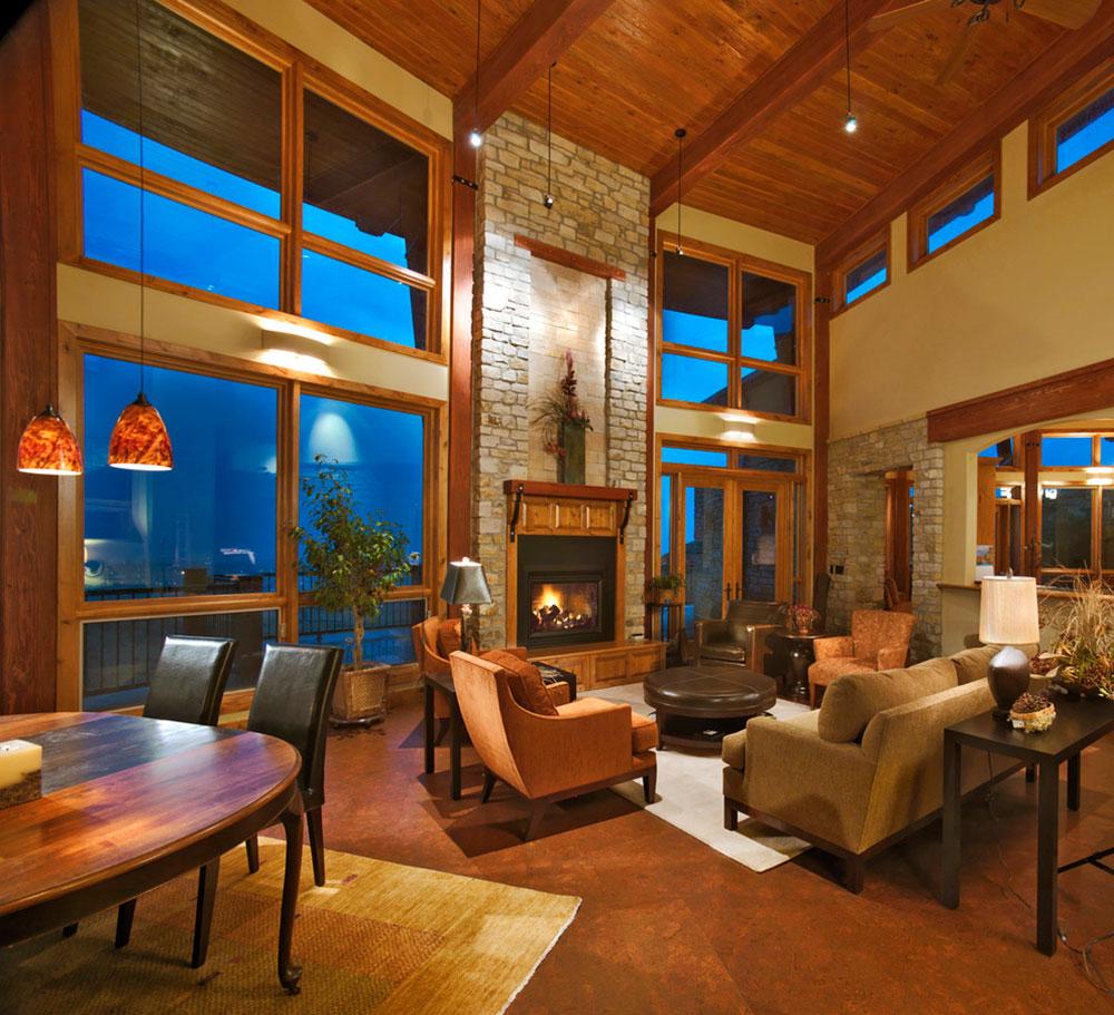 Designidéer från golv till tak12 Idéer för golv till takfönster