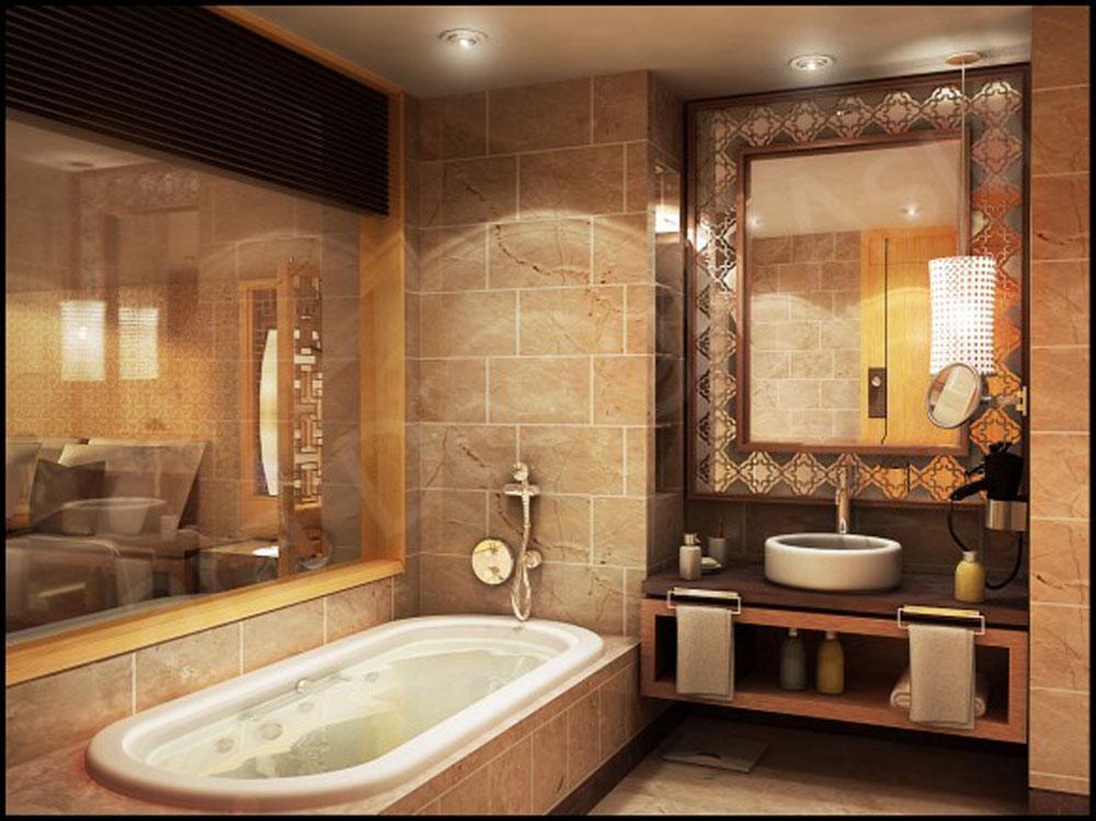 Trevliga idéer för att dekorera ett badrum-4 Trevliga idéer för att dekorera ett badrum