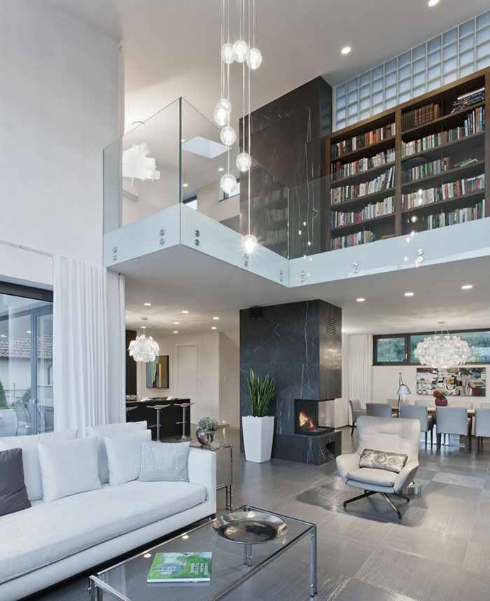 81677489042 Modernt sommelierhus designat av Sandor Duzs och Architema