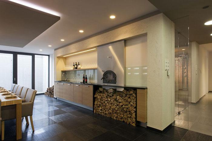 81677633273 Modernt sommelierhus designat av Sandor Duzs och Architema