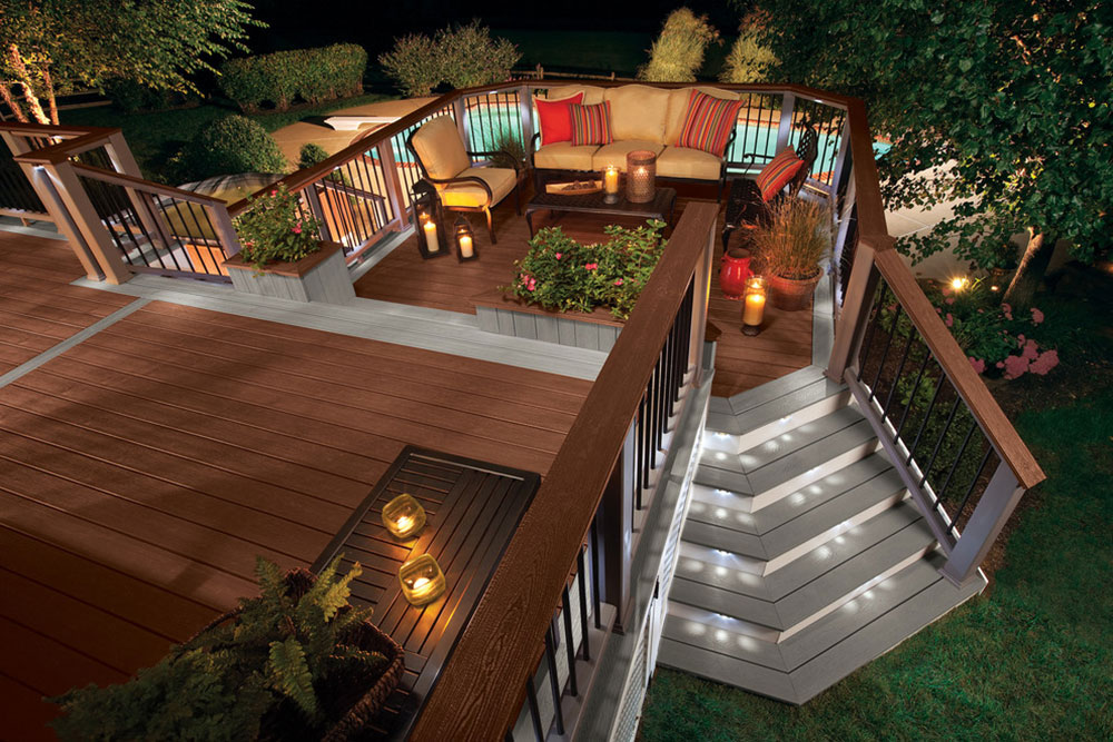 Bright-Your-Backyard-With-These-Deck-Lighting-Ideas9 Backyard Deck Lighting Ideas