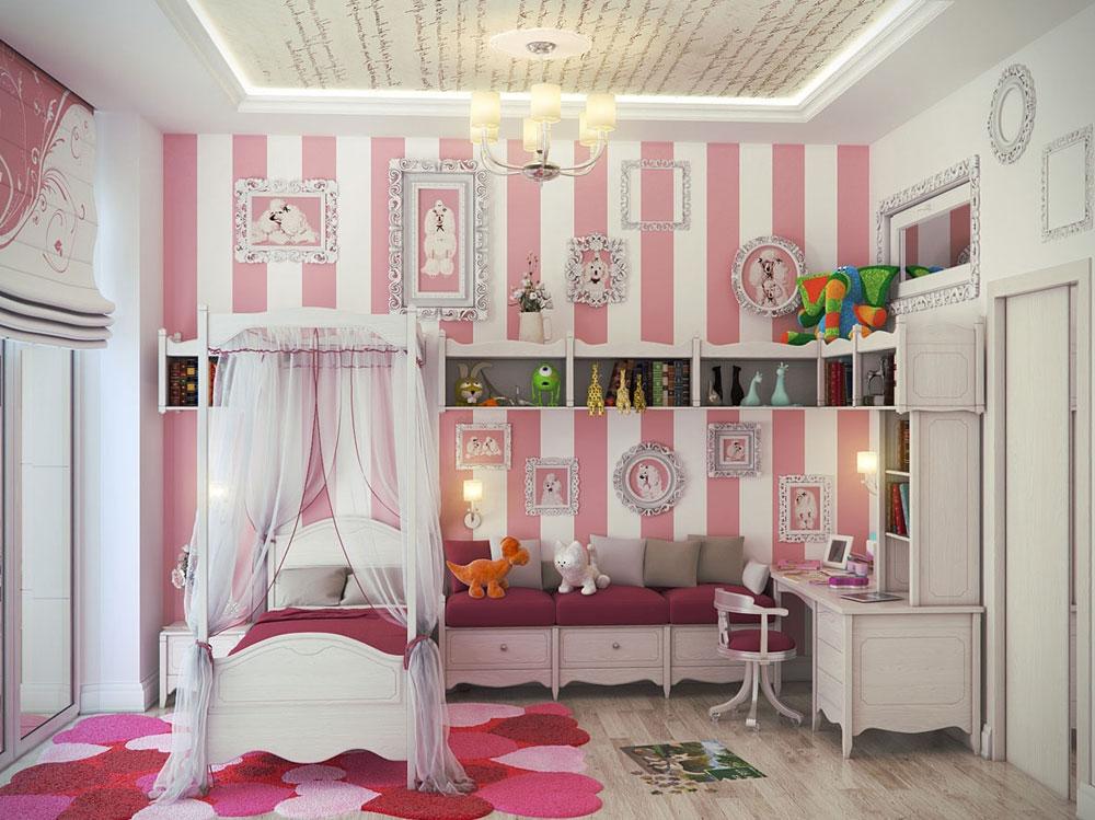 Det alls inte extravaganta sovrummet med randiga väggar-11 Det alls inte extravaganta sovrummet med randiga väggar