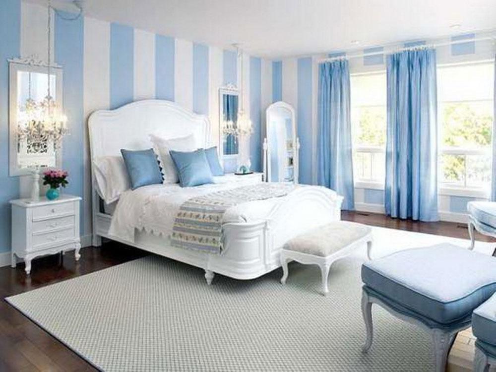 De-inte-alls-extravaganta sovrummen-med-randiga-väggar-4 De-inte-alls-extravaganta sovrummen med randiga väggar