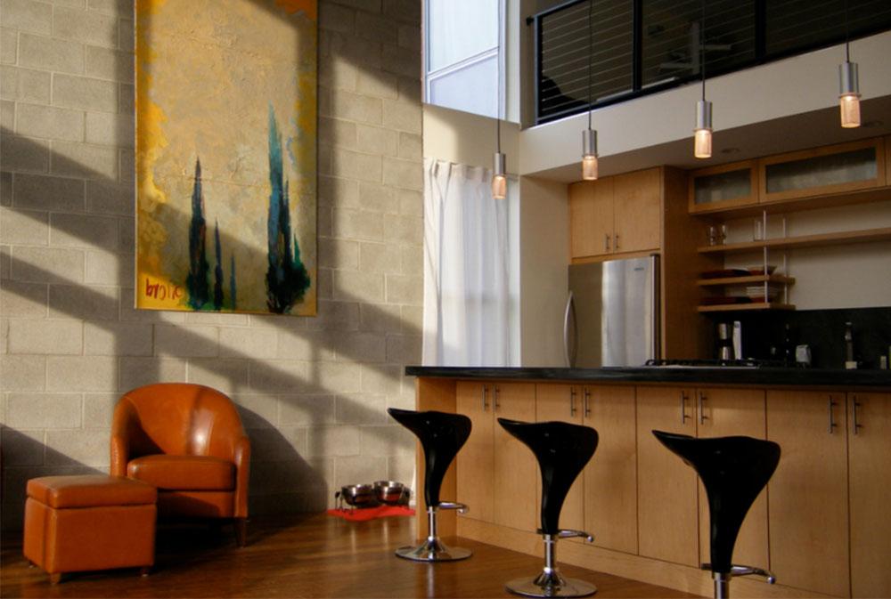 Bild-2-18 Hur man dekorerar höga väggar