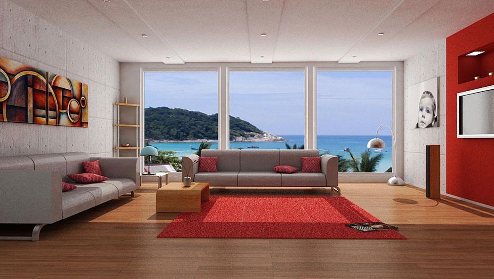 A-Showcase-Of-Modern-Interior-Decorating-Ideen-für-Wohnen-9 En showcase med moderna inredningsidéer för vardagsrum