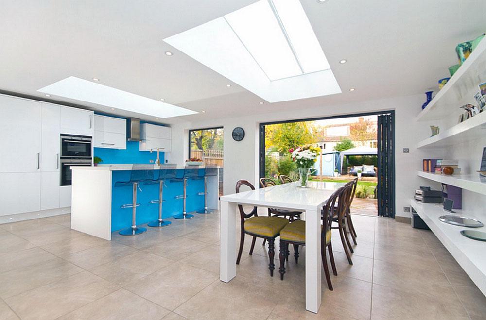 Kök-med-takfönster-för-mer-naturligt-ljus-3 Kök med takfönster för mer naturligt ljus