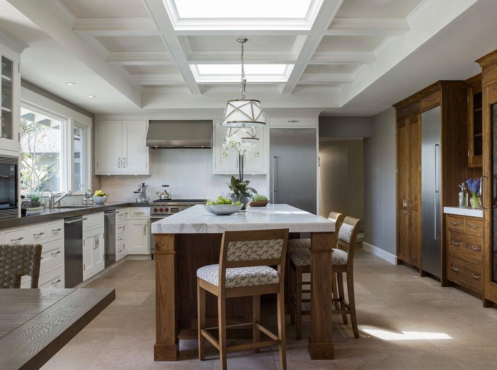 Kök med takfönster för mer naturligt ljus 12 kök med takfönster för mer naturligt ljus