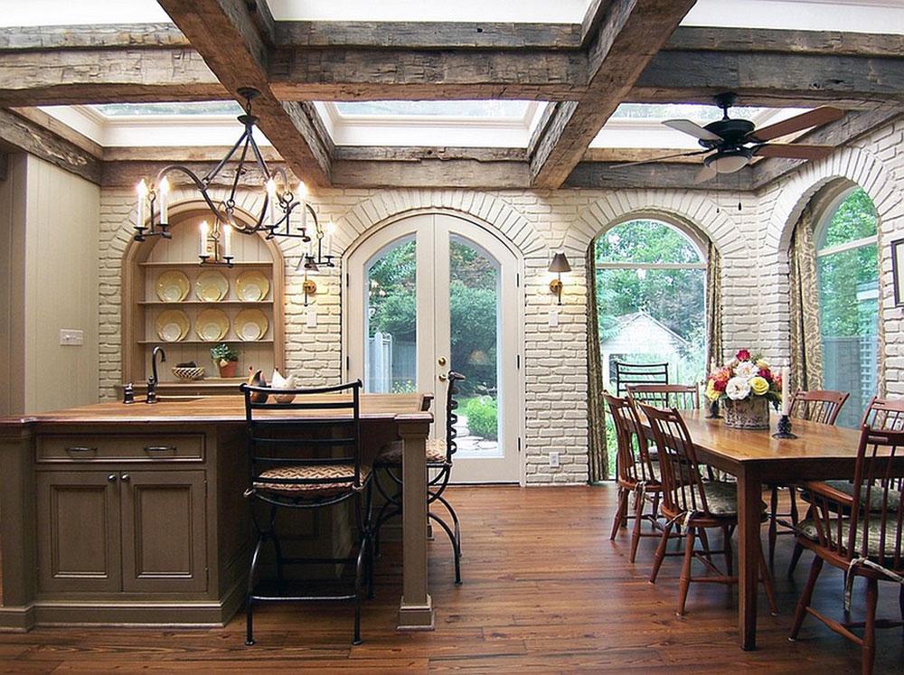 Kök med takfönster för mer naturligt ljus 8 kök med takfönster för mer naturligt ljus