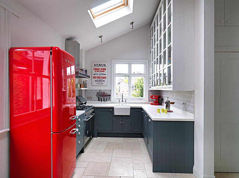 Kök med takfönster för mer naturligt ljus 7 kök med takfönster för mer naturligt ljus