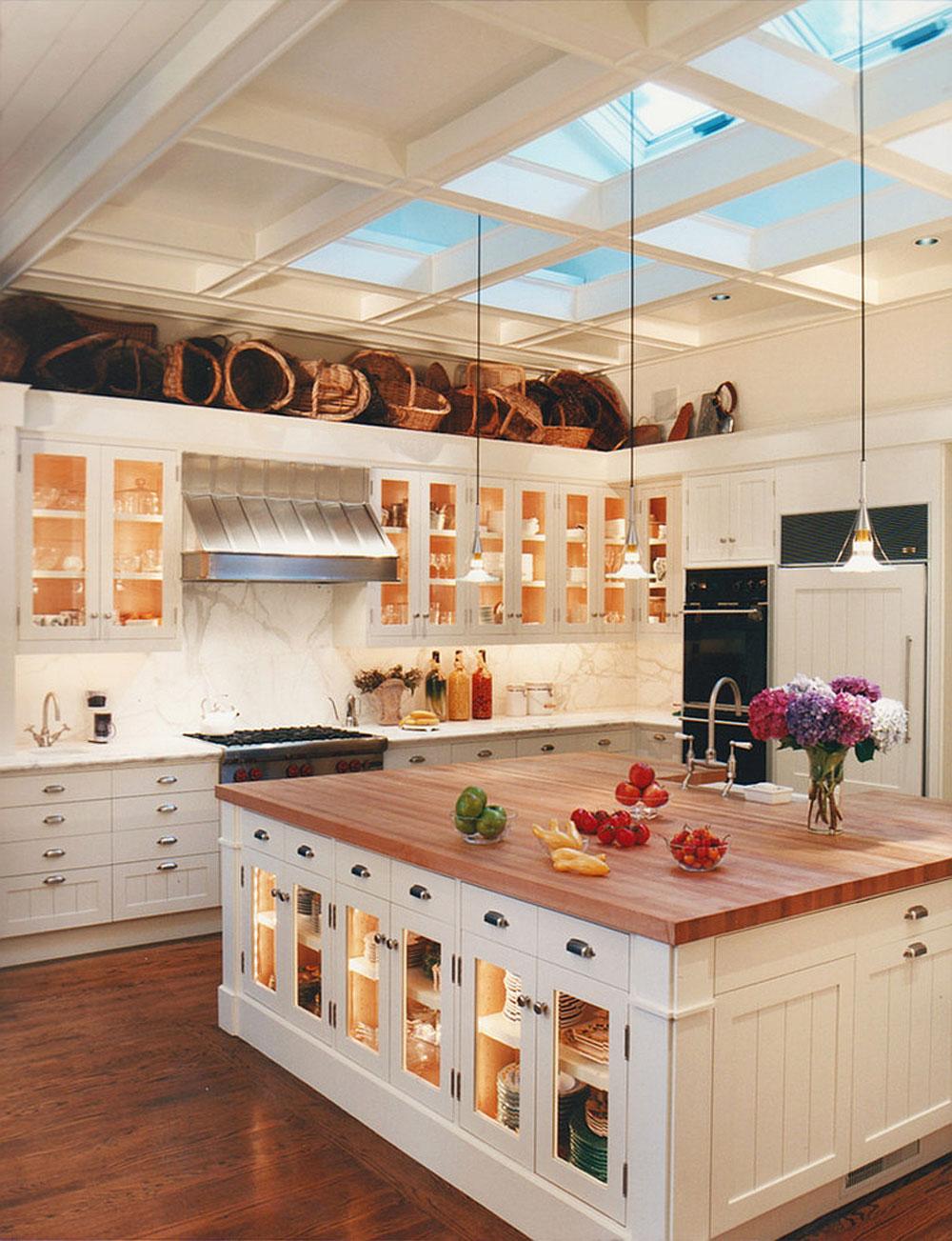 Kök med takfönster för mer naturligt ljus 5 kök med takfönster för mer naturligt ljus