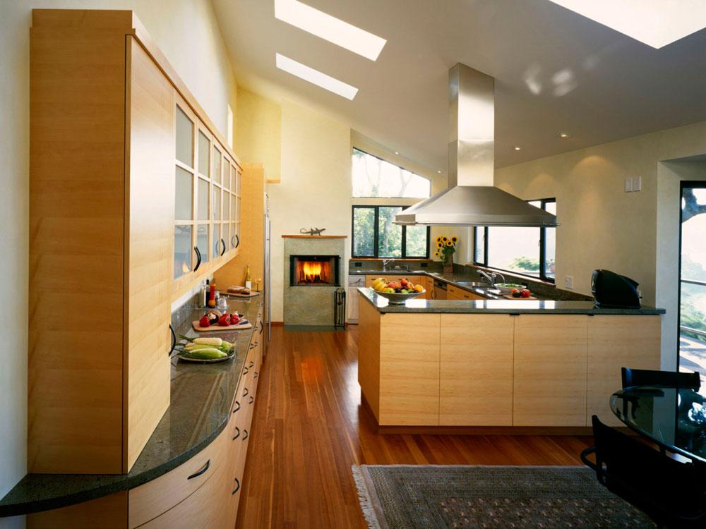 Kök med takfönster för mer naturligt ljus 4 kök med takfönster för mer naturligt ljus