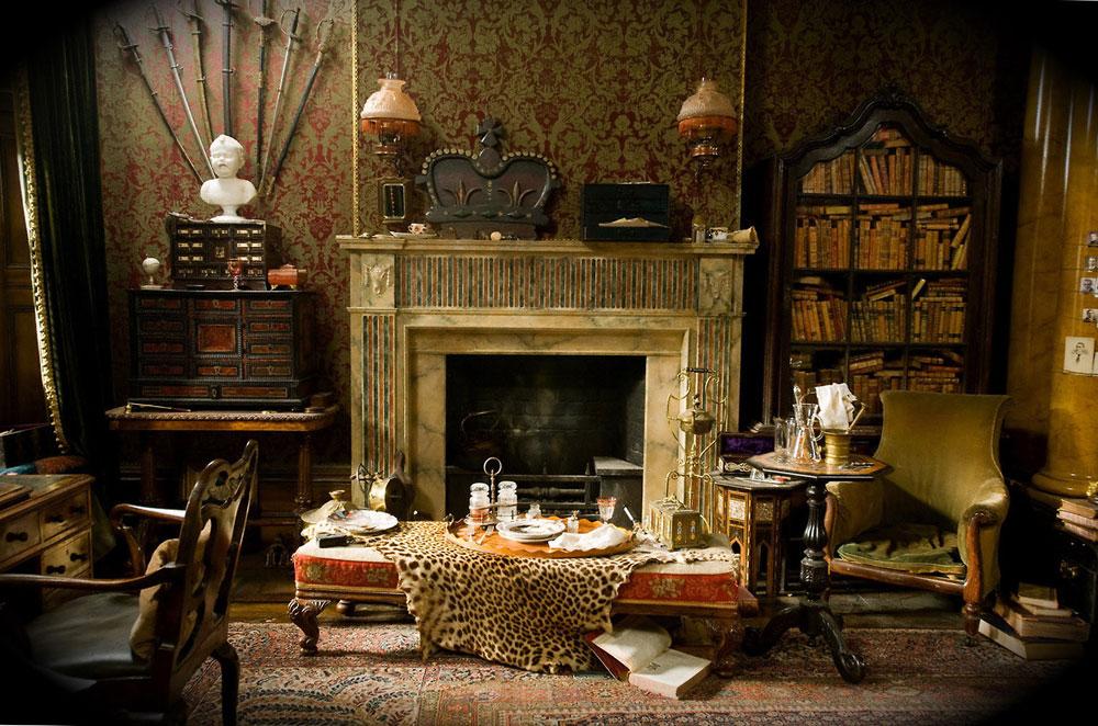 Modern-gotisk-inredning-design-med-dess-egenskaper-och-möbler-7 Modern gotisk inredning med sina egenskaper och möbler