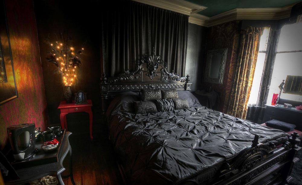 Modern-gotisk-inredning-design-med-dess-egenskaper-och-möbler-3 Modern gotisk inredning med dess egenskaper och möbler