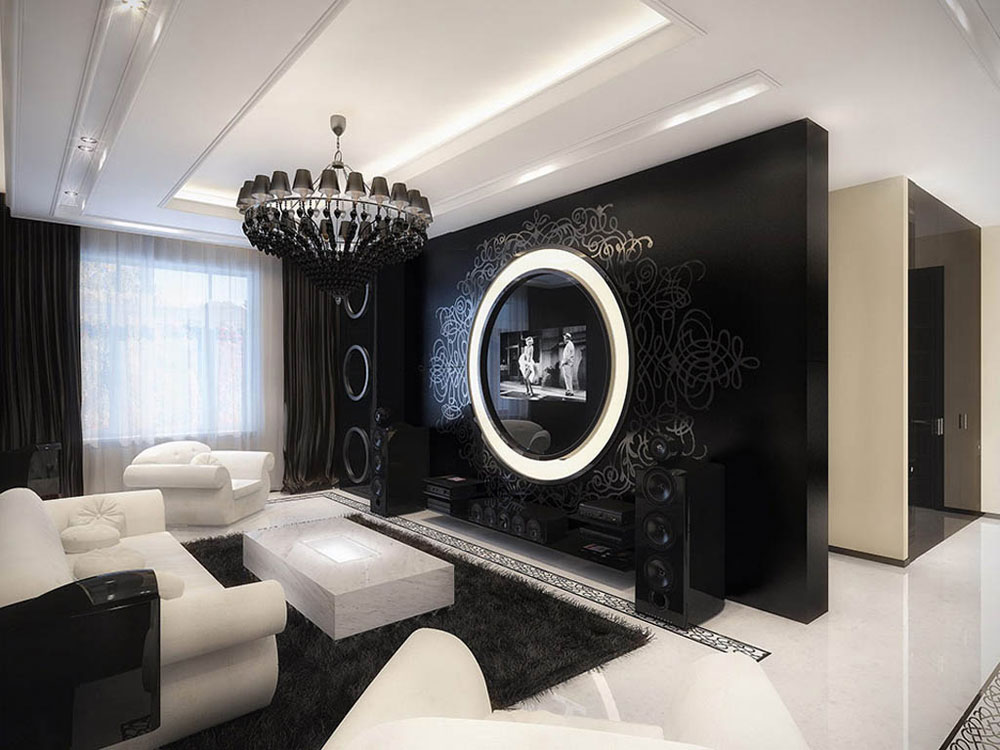 Modern-gotisk-inredning-design-med-dess-egenskaper-och-möbler-6 Modern gotisk inredning med dess egenskaper och möbler