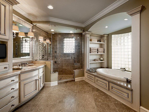 b5 Lyxiga badrumsdesignidéer som du kommer att älska
