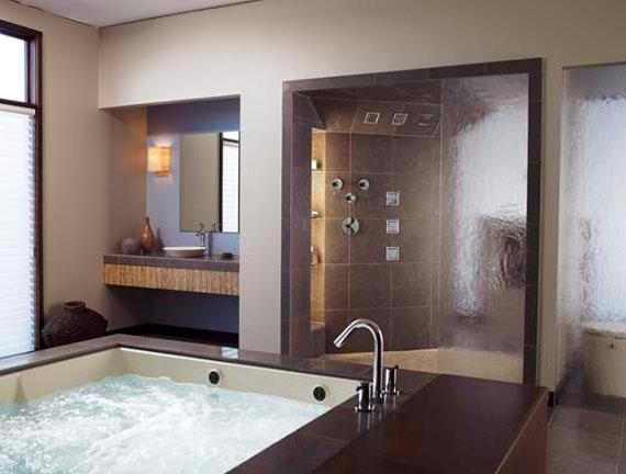 b41 Lyxiga badrumsdesignidéer som du kommer att älska