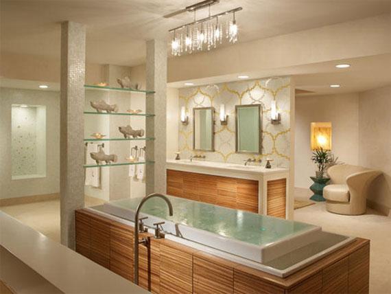 b9 Lyxiga badrumsdesignidéer som du kommer att älska