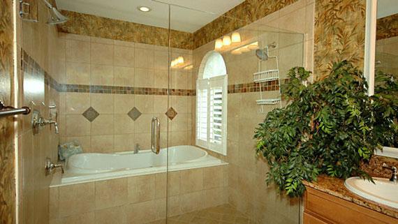 b49 Lyxiga badrumsdesignidéer som du kommer att älska