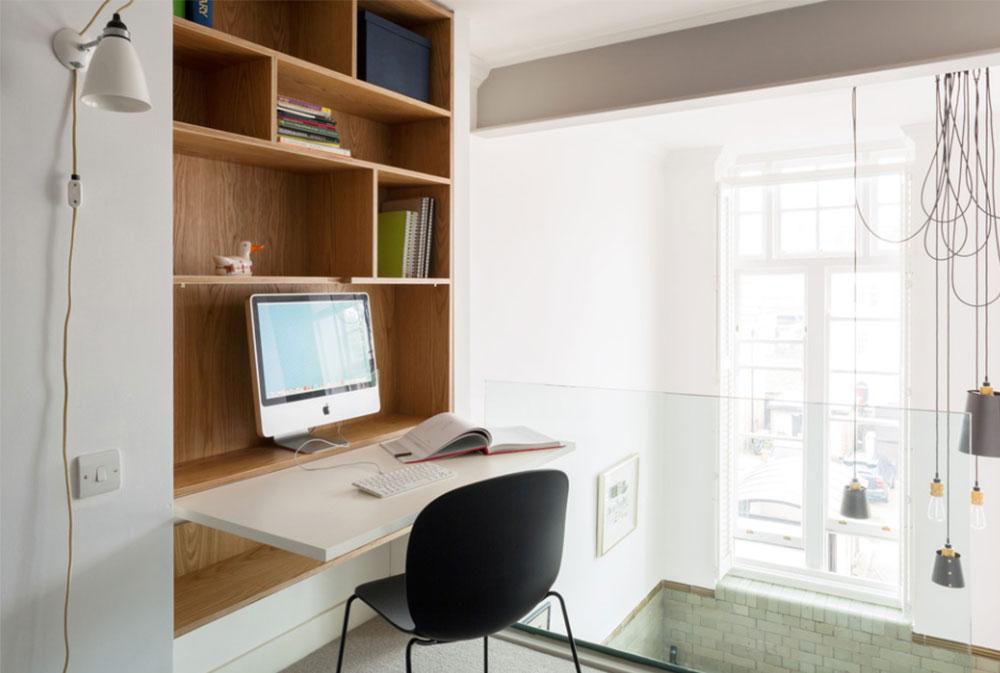 Bild-13-2 Dekorationsidéer för skrivbord och skåp