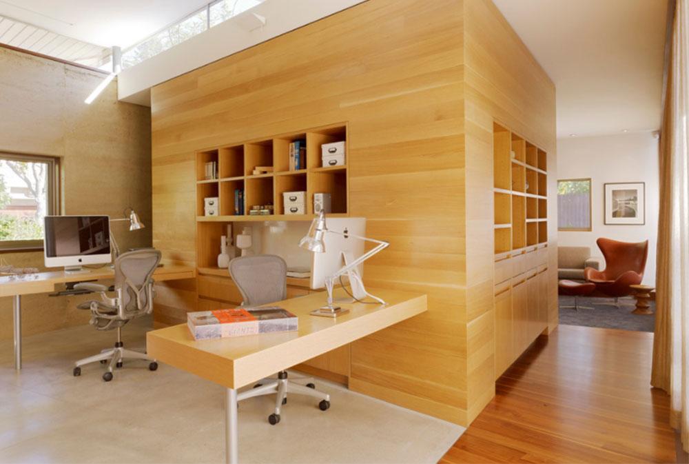 Bild-8-2 Dekorationsidéer för skrivbord och skåp