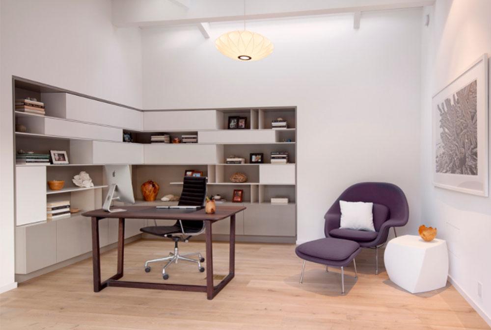 Bild-12-2 Dekorationsidéer för skrivbord och skåp