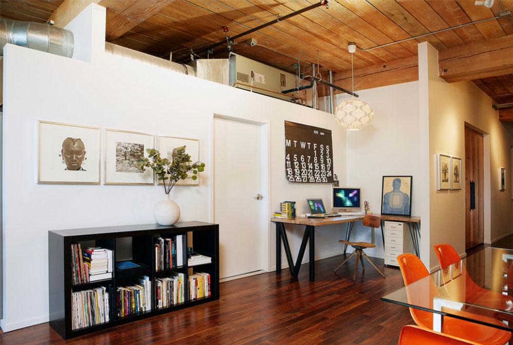 Bild-15-2 Dekorationsidéer för skrivbord och skåp