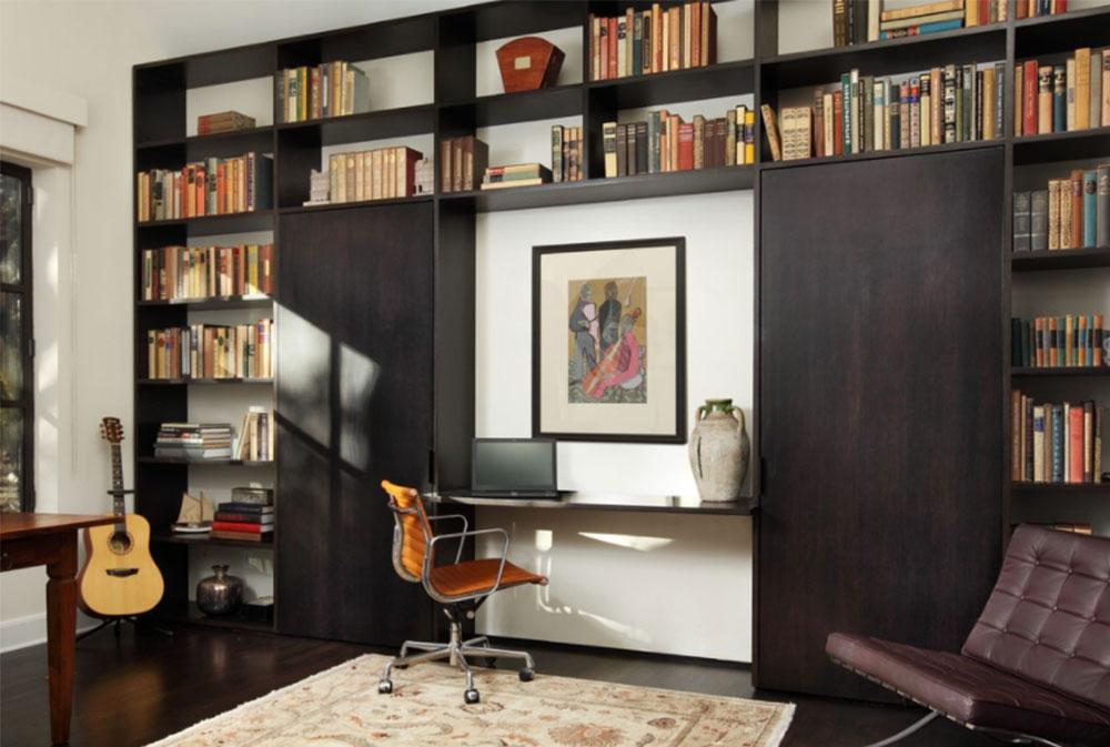 Bild-10-2 Dekorationsidéer för skrivbord och skåp