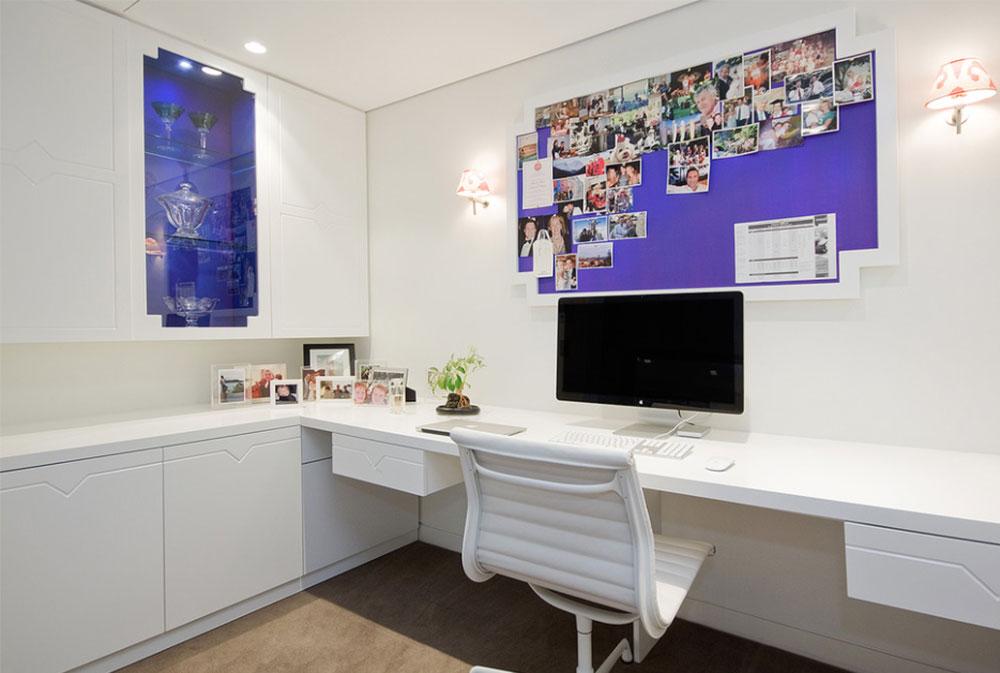 Bild-11-2 Dekorationsidéer för skrivbord och skåp