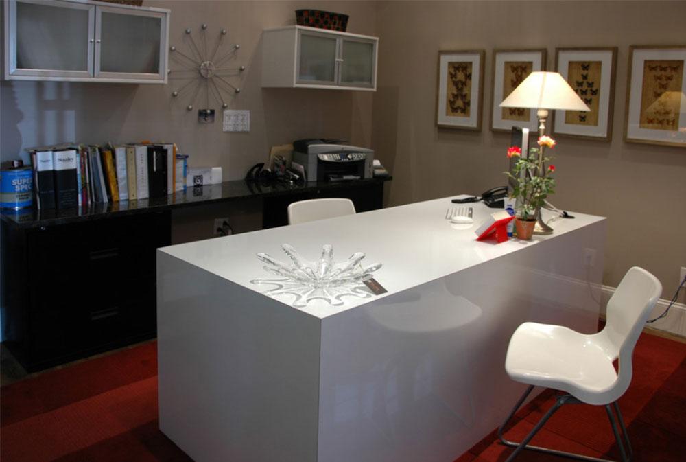 Bild-3-2 Dekorationsidéer för skrivbord och skåp