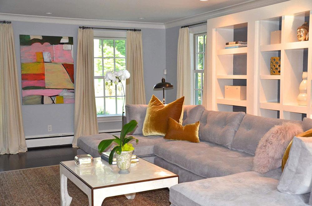 2wa-blå-grå vardagsrum Hur man får inredningen i ditt hus att lysa