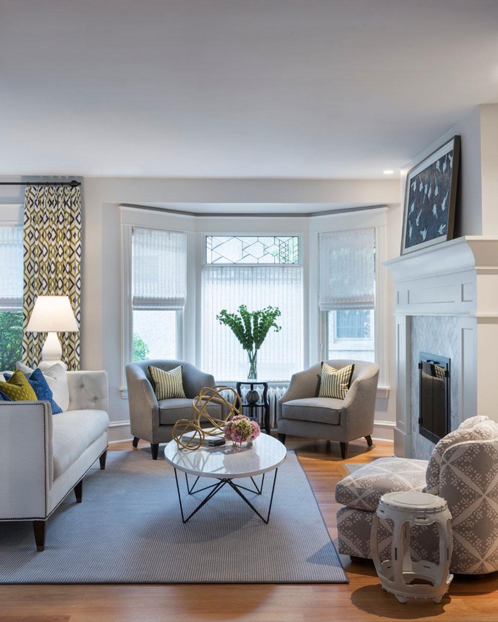 Homey-Feelings-With-These-Bay-Window-Decor-15 Bay Window Decor att prova i ditt hem