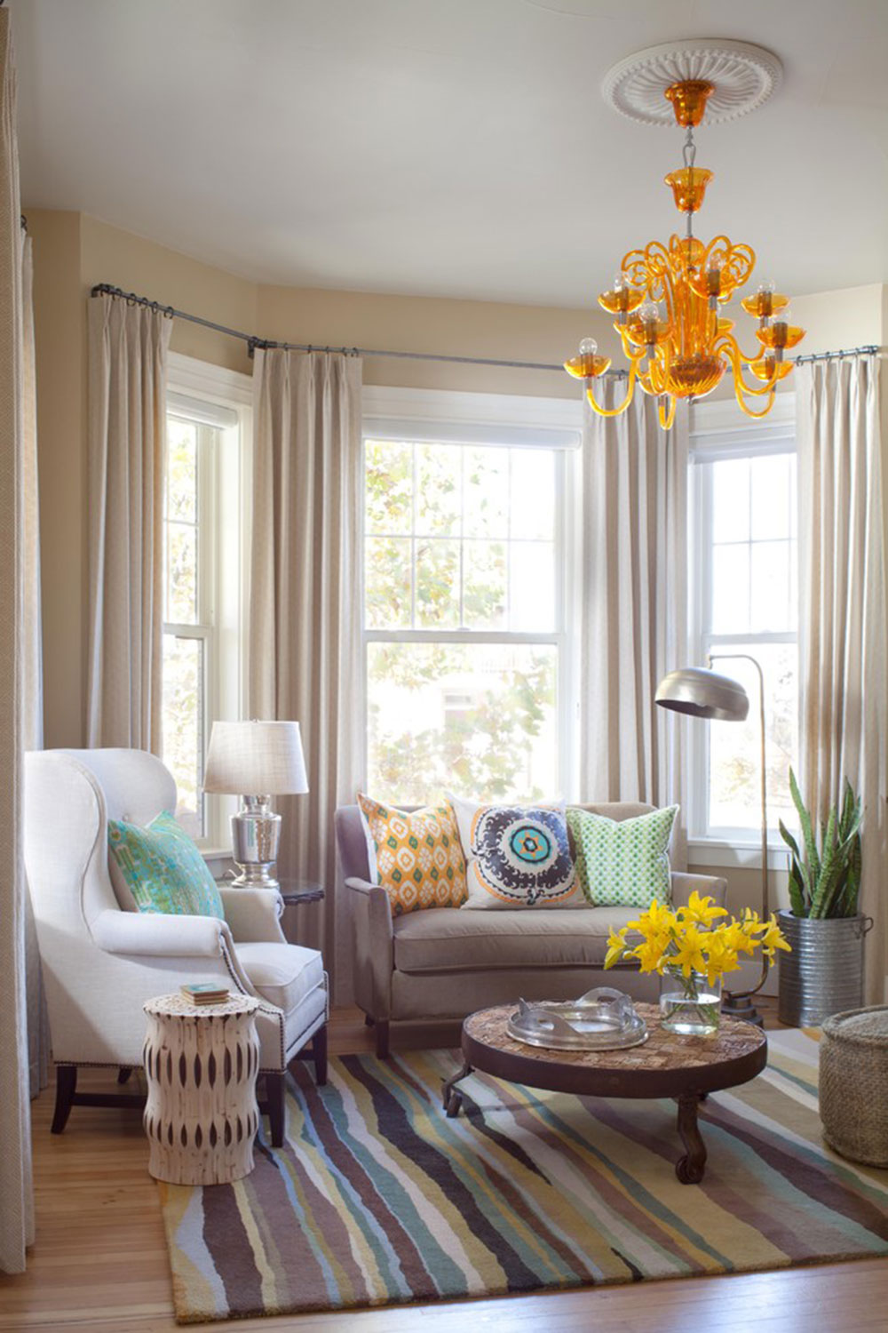 Homey-Feelings-With-These-Bay-Window-Decor-10 bay window decor to try out in your home