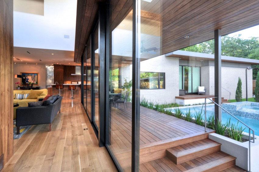Vackert hollyhus, designat av ett arkitektkontor StudioMET-3 Vackert hollyhus, designat av ett arkitektkontor StudioMET