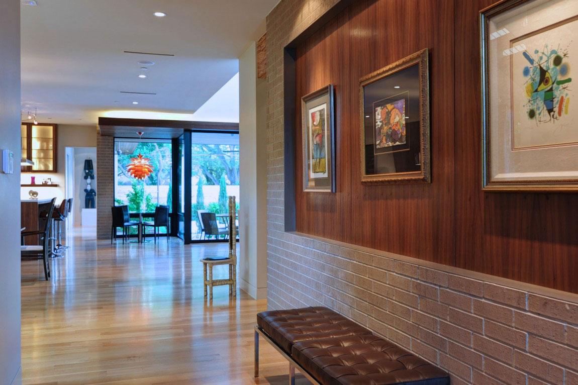 Vackert hollyhus, designat av ett arkitektfirma StudioMET-12 Vackert hollyhus, designat av ett arkitektfirma StudioMET