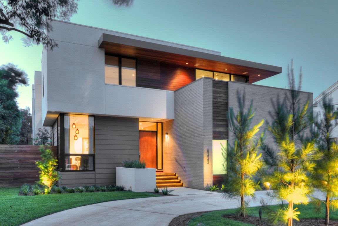 Vackert hollyhus, designat av ett arkitektkontor StudioMET-17 Vackert hollyhus, designat av ett arkitektkontor StudioMET