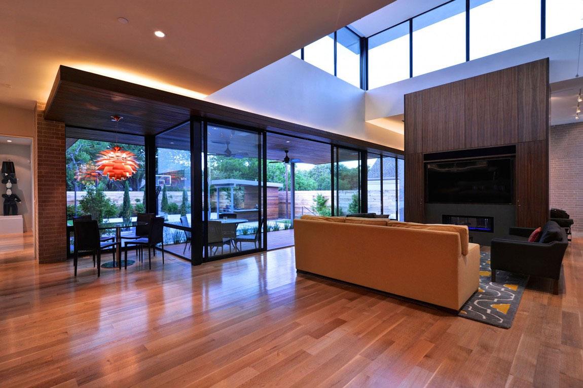 Vackert hollyhus, designat av ett arkitektkontor StudioMET-8 Vackert hollyhus, designat av ett arkitektkontor StudioMET