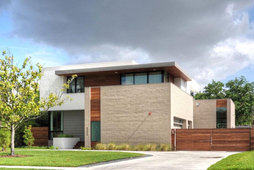 Vackert hollyhus, designat av ett arkitektkontor StudioMET-2 Vackert hollyhus, designat av ett arkitektkontor StudioMET