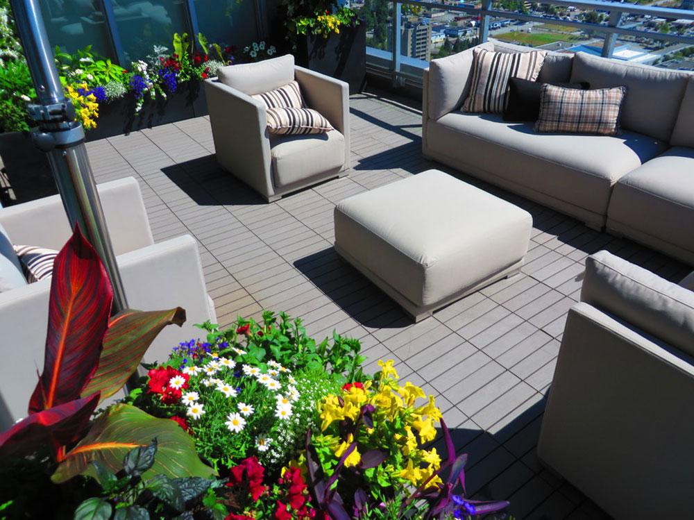 Hur man dekorerar en lägenhet balkong12 Hur man dekorerar en lägenhet balkong
