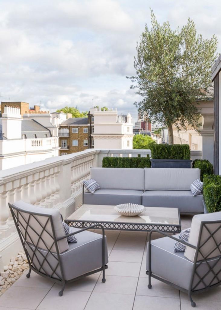Hur man dekorerar en lägenhet balkong10-732x1024 Hur man dekorerar en lägenhet balkong