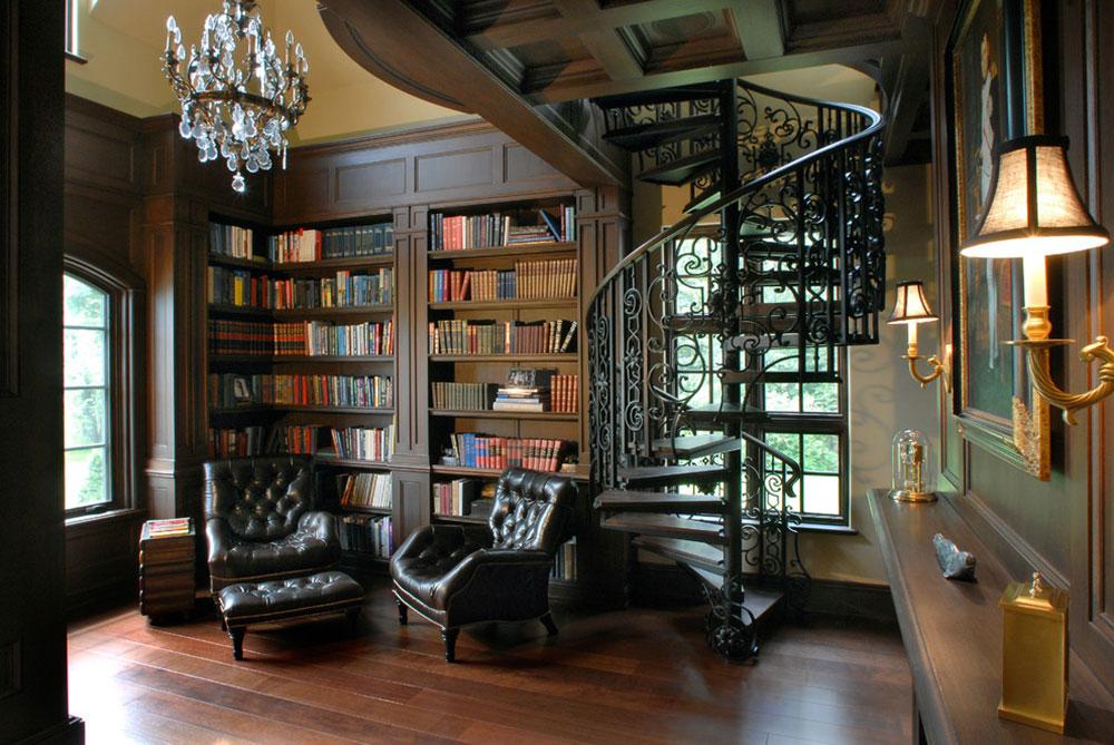 Att skapa ett hembibliotek Design skapar ett avkopplande utrymme 10 Att skapa ett hembibliotek Design ger en avkopplande plats