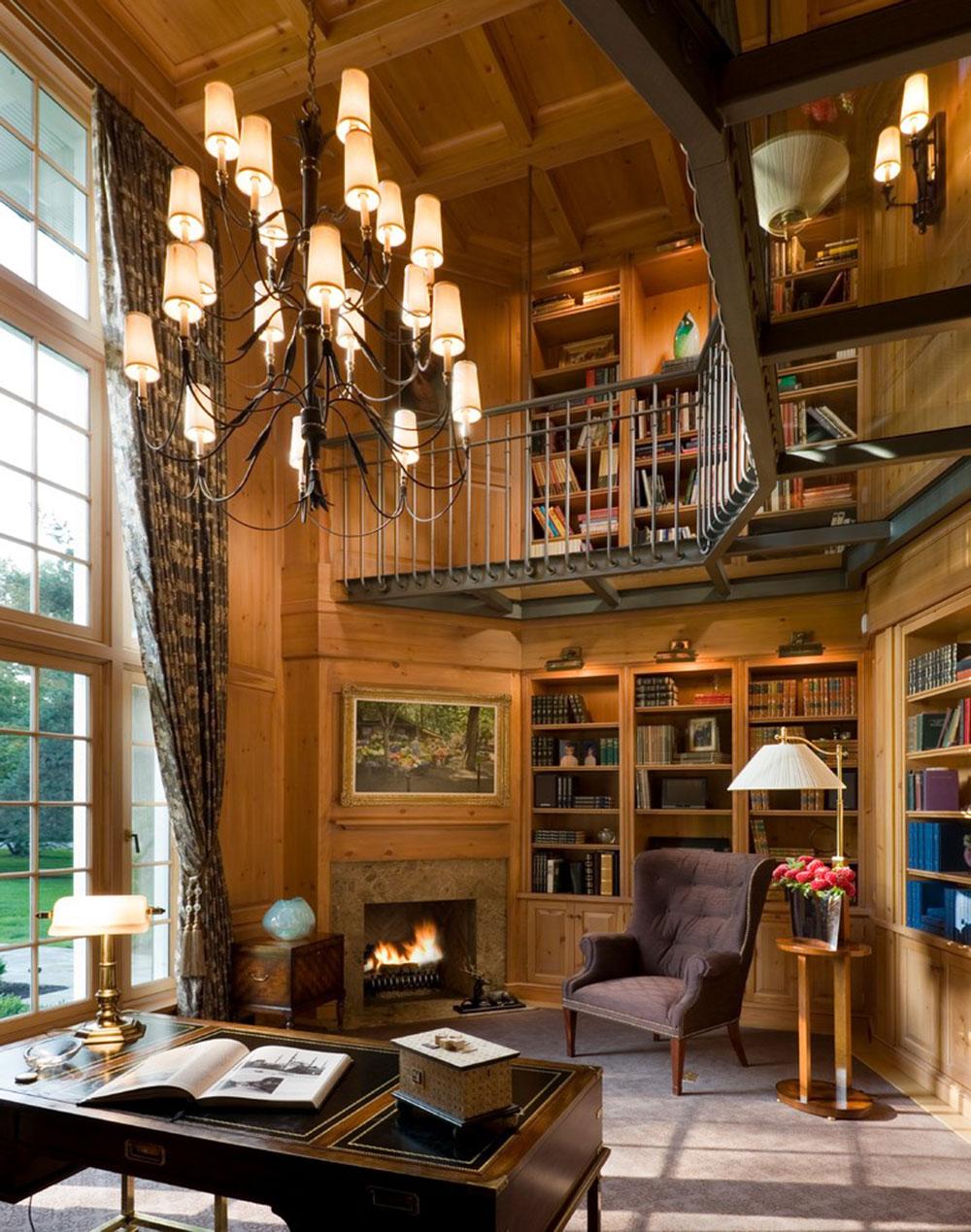 Skapa ett hembibliotek Design gör för ett avkopplande utrymme6 Skapa ett hembibliotek Design gör för ett avkopplande utrymme