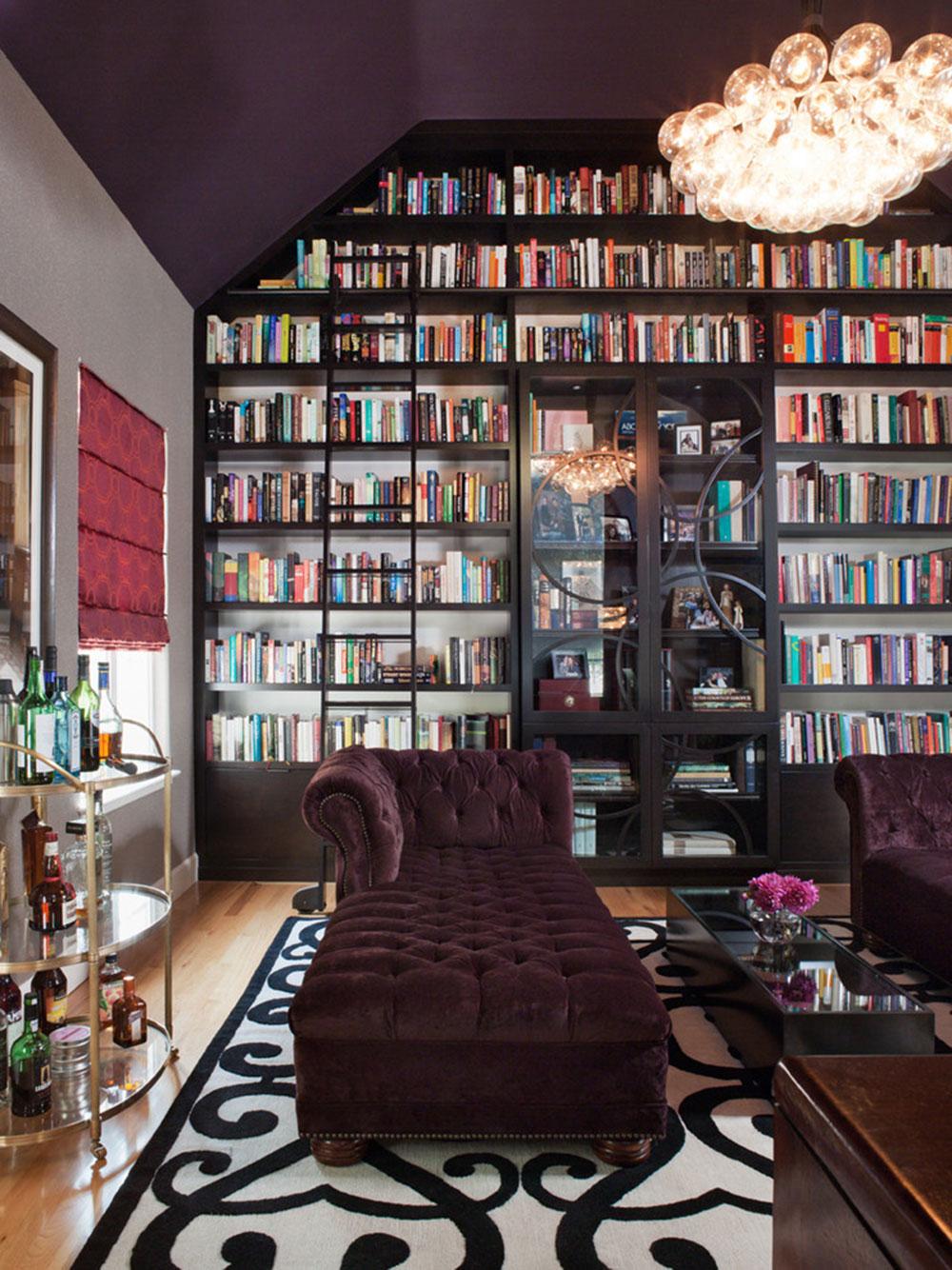 Skapa ett hembibliotek Design gör för ett avkopplande utrymme 8 Skapa ett hembibliotek Design gör för ett avkopplande utrymme