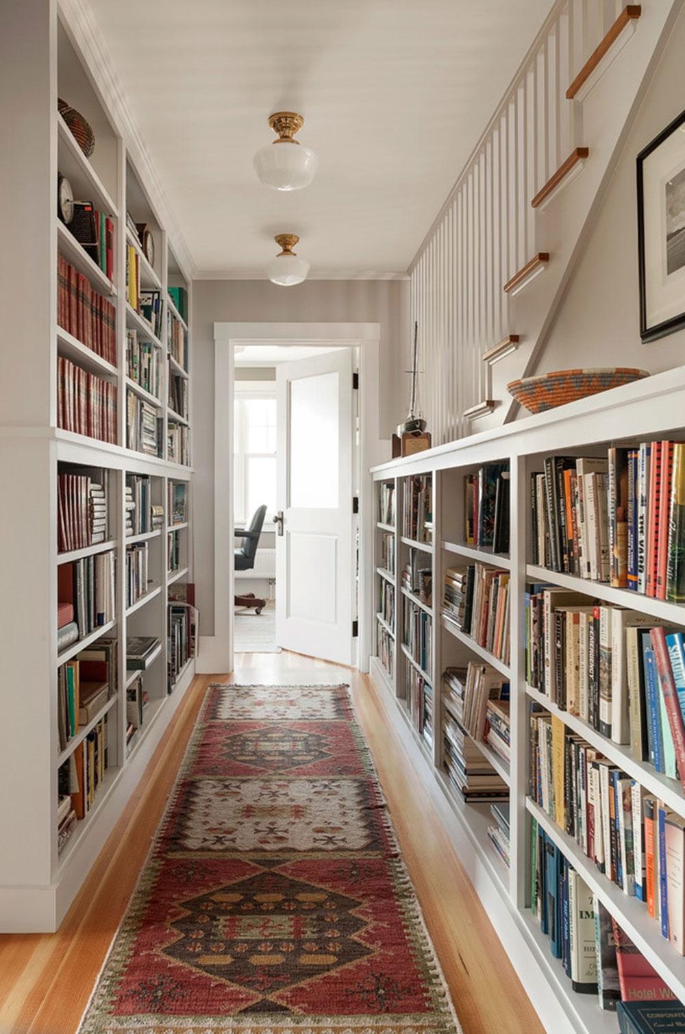 Att skapa ett hembibliotek Design skapar ett avkopplande utrymme12 Att skapa ett hembibliotek Design ger en avkopplande plats