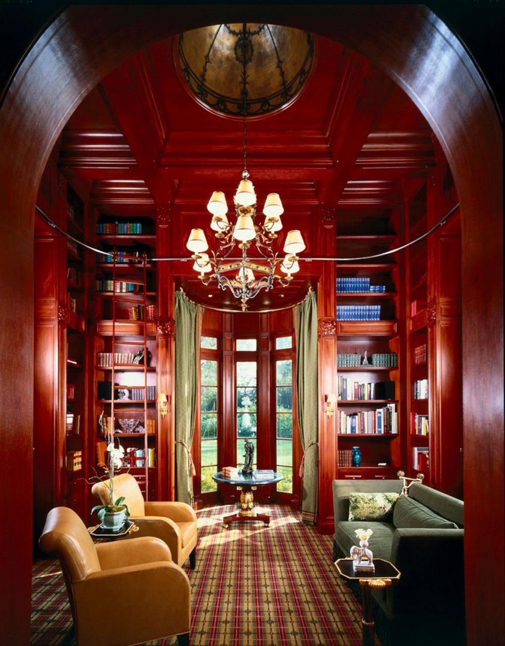 Skapa ett hembibliotek Design gör för ett avkopplande utrymme 9 Skapa ett hembibliotek Design gör för ett avkopplande utrymme