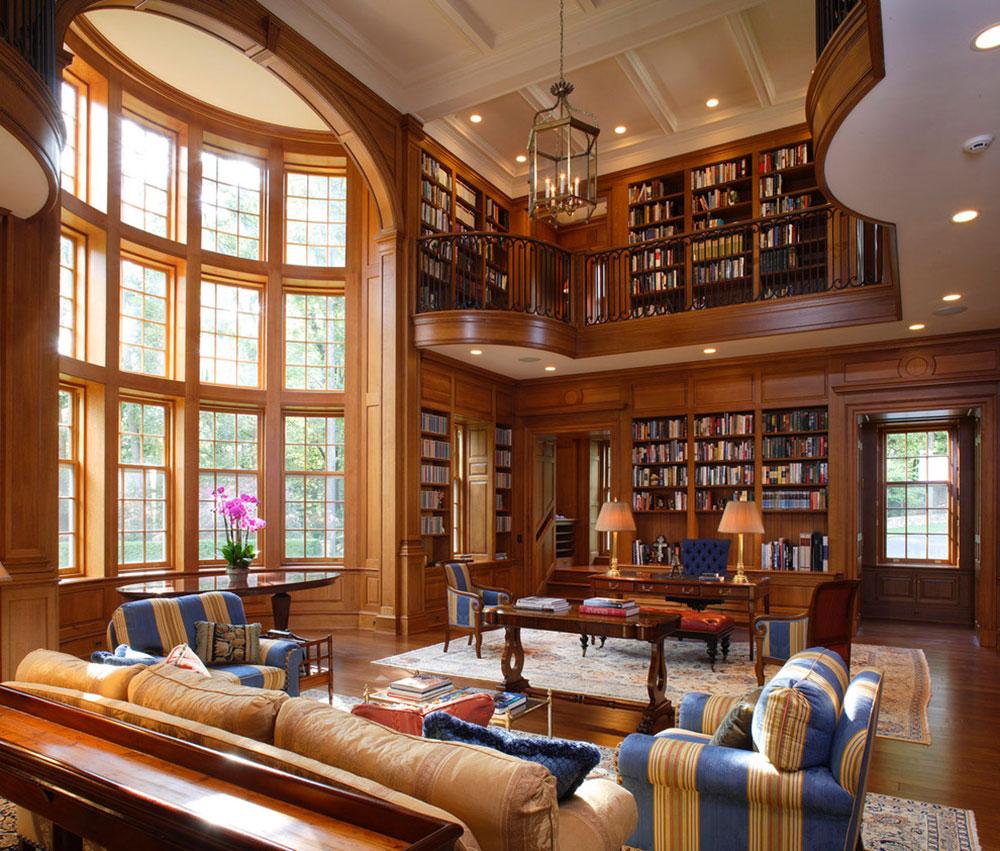 Att skapa ett hembibliotek Design skapar ett avkopplande utrymme 11 Att skapa ett hembibliotek Design ger en avkopplande plats