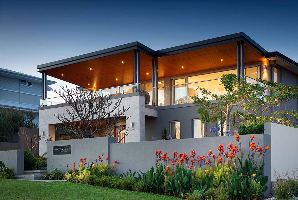 Front-Yard-Design-by-Summit-Homes-Group Modern Architecture: Moderna byggnader med cool arkitektur