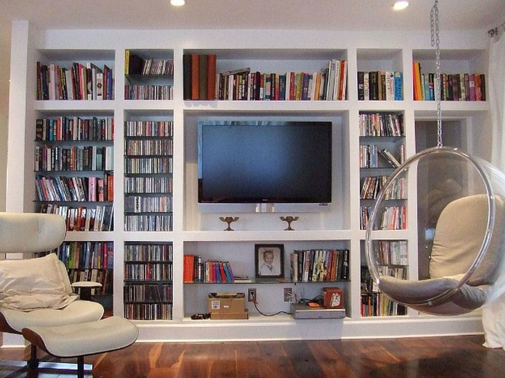 Bästa platsen för TV i vardagsrummet 7 Bästa platsen för TV i vardagsrummet