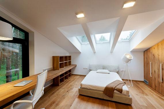 52215069059 Fantastiskt designat hus bland tallarna i Vilnius