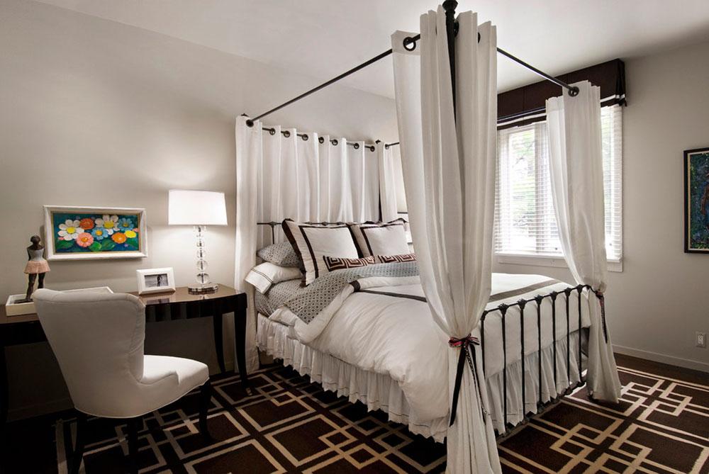 Gardiner runt sängen mellan funktion och design6 Gardiner runt sängen - mellan funktion och design